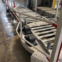 removable conveyor barriers 1