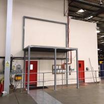 steelwork platform 1