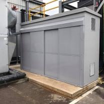 Sub station acoustic shelter