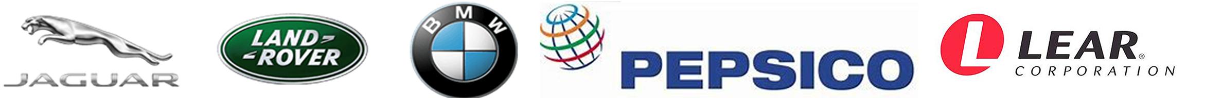 logos website homepage